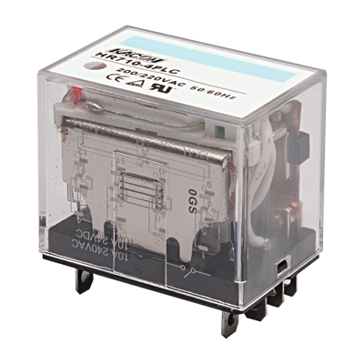 Electro Mechanical Relay, Cube type, 10A 4PDT, 24VDC coil input, LED Indiator, (socket req'd)